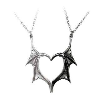 Halskette mit Anhänger ALCHEMY GOTHIC - Darkling Heart, ALCHEMY GOTHIC