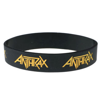 Gummi-Armband Anthrax - ROCK OFF, ROCK OFF, Anthrax