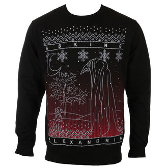 Herren Pullover Asking Alexandria - THE BLACK CHRISTMAS - PLASTIC HEAD, PLASTIC HEAD, Asking Alexandria
