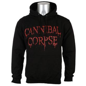 Herren Hoodie Cannibal Corpse - DRIPPING LOGO - PLASTIC HEAD, PLASTIC HEAD, Cannibal Corpse