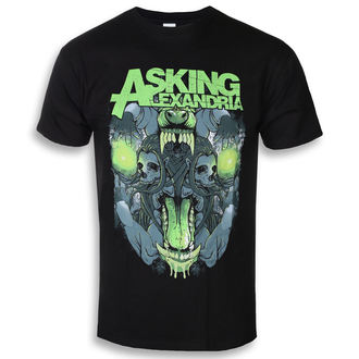 Herren T-Shirt Metal Asking Alexandria - Teeth - ROCK OFF, ROCK OFF, Asking Alexandria