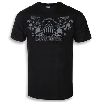 Herren T-Shirt Disturbed - Beware The Vultures - ROCK OFF, ROCK OFF, Disturbed