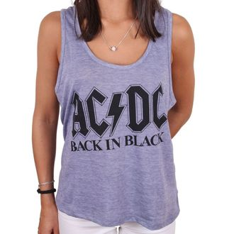 Damen Tanktop AC / DC - BACK IN BLACK - LEGEND, LEGEND, AC-DC