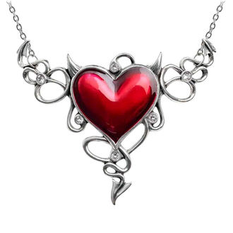 Halskette ALCHEMY GOTHIC - Devil Heart Genereux, ALCHEMY GOTHIC