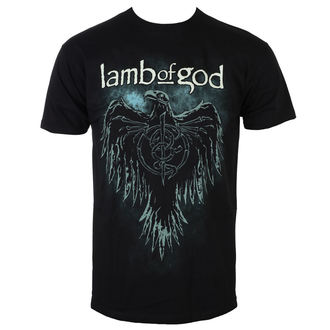 Herren T-Shirt Metal Lamb Of God - Phoenix - Schwarz - ROCK OFF, ROCK OFF, Lamb of God