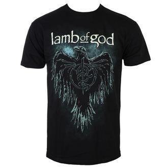 Herren T-Shirt Metal Lamb Of God - Phoenix - Schwarz - ROCK OFF, ROCK OFF, Lamb of God