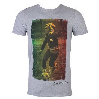 Herren T-Shirt Bob Marley - Rasta Football - ROCK OFF, ROCK OFF, Bob Marley