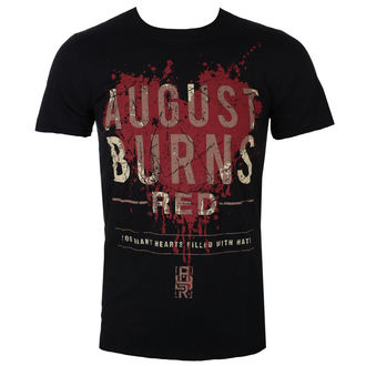 Herren T-Shirt Metal August Burns Red - Heart Filled - ROCK OFF, ROCK OFF, August Burns Red