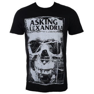 Herren T-Shirt Metal Asking Alexandria - FACIAL - PLASTIC HEAD, PLASTIC HEAD, Asking Alexandria