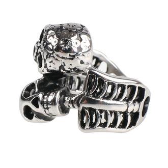 Ring ETNOX - Double Skull, ETNOX