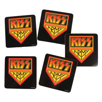 Untersetzer KISS - ROCK OFF, ROCK OFF, Kiss
