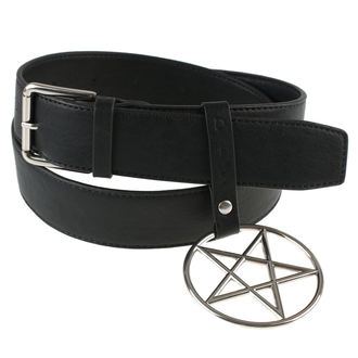 Gürtel DISTURBIA - RING PENTAGRAM, DISTURBIA