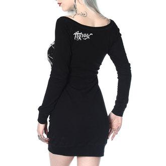 Damen Kleid HYRAW - ROBE MANCHES LONGUES ANGEL OF DEATH, HYRAW
