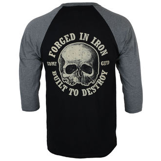 Herren 3/4 Arm Shirt Black Label Society - FORGED IN IRON - PLASTIC HEAD, PLASTIC HEAD, Black Label Society