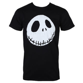 Herren T-Shirt Film The Nightmare Before Christmas - CRACKED FACE - PLASTIC HEAD, PLASTIC HEAD