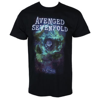 Herren T-Shirt Metal Avenged Sevenfold - SPACE FACE - PLASTIC HEAD, PLASTIC HEAD, Avenged Sevenfold