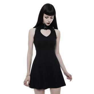 Damen Kleid PUNK RAVE - Adorable little - schwarz