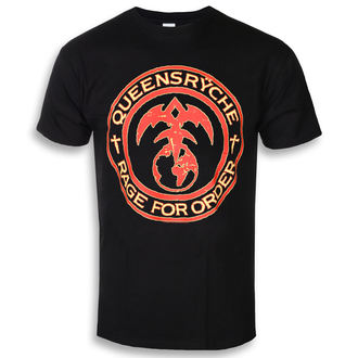 Herren T-Shirt Metal Queensryche - RAGE FOR ORDER - PLASTIC HEAD, PLASTIC HEAD, Queensryche