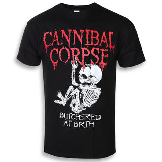 Herren T-Shirt Metal Cannibal Corpse - BUTCHERED AT BIRTH BABY - PLASTIC HEAD, PLASTIC HEAD, Cannibal Corpse