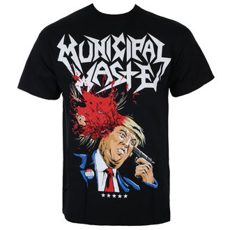 Herren T-Shirt Metal Municipal Waste - TRUMP - Just Say Rock, Just Say Rock, Municipal Waste