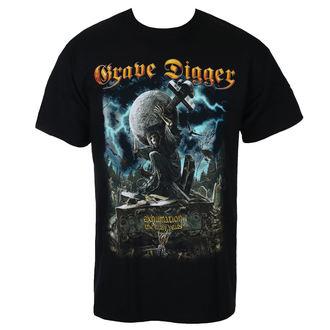 Herren T-Shirt Metal Grave Digger - EXHUMATION CLAN - Just Say Rock, Just Say Rock, Grave Digger
