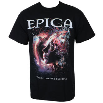 Herren T-Shirt Metal Epica - HOLOGRAPHIC PRINCIPLE - Just Say Rock, Just Say Rock, Epica