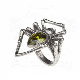 Ring ALCHEMY GOTHIC - Emerald Venom, ALCHEMY GOTHIC