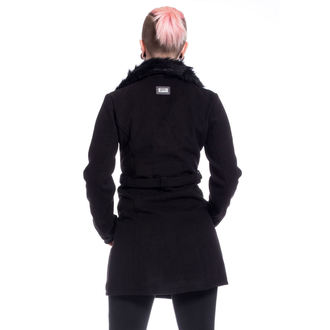 Damen Mantel POIZEN INDUSTRIES - ENDORA - SCHWARZ, POIZEN INDUSTRIES