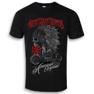 Herren T-Shirt - Solid Black - West Coast Choppers, West Coast Choppers