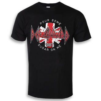 Herren T-Shirt Metal Def Leppard - Pour Some Sugar On Me - HYBRIS, HYBRIS, Def Leppard