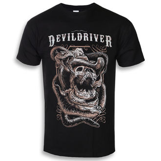 Herren T-Shirt Metal Devildriver - Cowboy2 - NAPALM RECORDS, NAPALM RECORDS, Devildriver