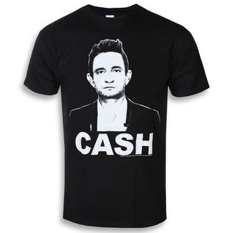 Herren T-Shirt Metal Johnny Cash - Straight Stare - ROCK OFF