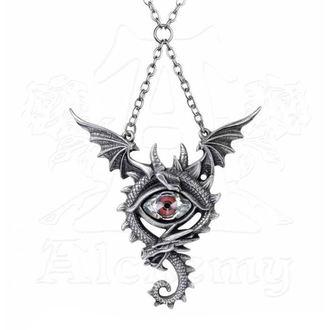 Anhänger mit Halskette ALCHEMY GOTHIC - Eye Of The Dragon, ALCHEMY GOTHIC