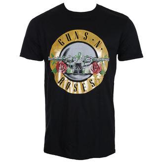 Herren T-Shirt Metal Guns N' Roses - Logo Fog Foil - ROCK OFF, ROCK OFF, Guns N' Roses