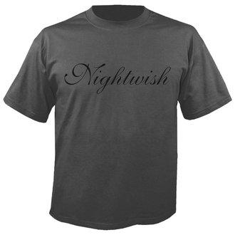 Herren T-Shirt Metal Nightwish - Logo GREY - NUCLEAR BLAST, NUCLEAR BLAST, Nightwish