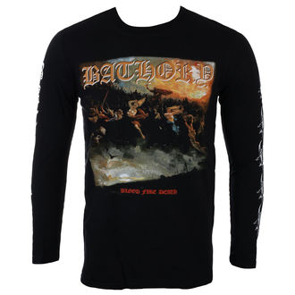 Herren Longsleeve Metal Bathory - BLOOD FIRE DEATH - PLASTIC HEAD, PLASTIC HEAD, Bathory