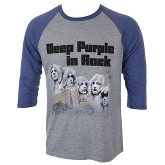 Herren 3/4 Arm Shirt Deep Purple - IN ROCK 2017 - PLASTIC HEAD, PLASTIC HEAD, Deep Purple