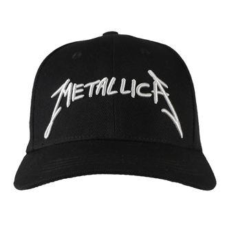 Cap Kappe Metallica - Garage - Silber Logo Schwarz, NNM, Metallica