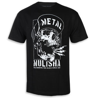 Herren T-Shirt Street - NO PEACE BLK - METAL MULISHA, METAL MULISHA