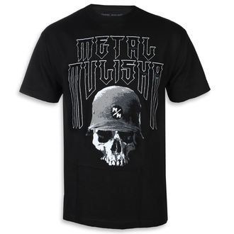 Herren T-Shirt Street - FORTITUDE BLK - METAL MULISHA, METAL MULISHA