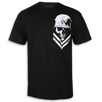 Herren T-Shirt Street - TROOPER BLK - METAL MULISHA, METAL MULISHA