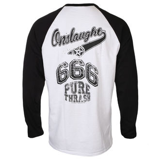Herren Longsleeve Metal Onslaught - THE FORCE 30TH ANNIVERSARY BASEBALL - RAZAMATAZ, RAZAMATAZ, Onslaught