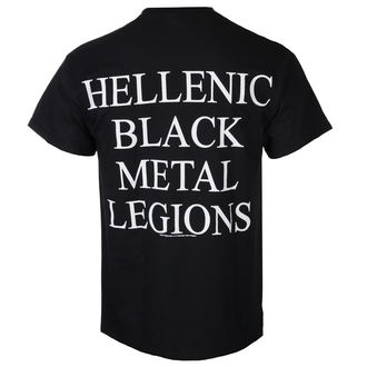 Herren T-Shirt Metal Rotting Christ - HELLENIC BLACK METAL LEGIONS - RAZAMATAZ, RAZAMATAZ, Rotting Christ