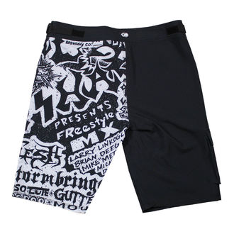 Herren Badeshorts METAL MULISHA - FLYER- BLK, METAL MULISHA