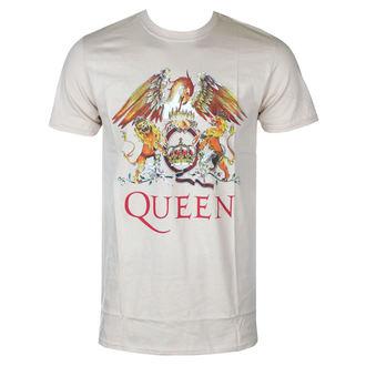 Herren T-Shirt Queen - Classic Crest - ROCK OFF, ROCK OFF, Queen