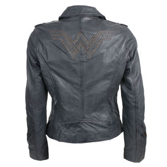 Damen Lederjacke Wonder Woman - GREY -