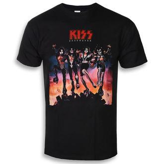 Herren T-Shirt Metal Kiss - Destroyer - ROCK OFF, ROCK OFF, Kiss