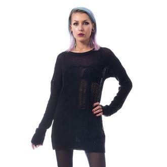 Damen Pullover HEARTLESS - FRACTION - SCHWARZ, HEARTLESS