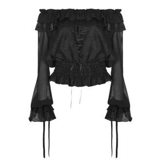 Damen Bluse Gothic Punk - Nights Serenade - PUNK RAVE, PUNK RAVE