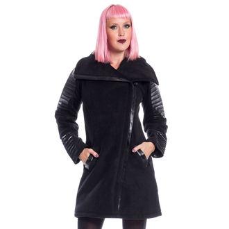 Damen Mantel Chemical Black - GALINA - SCHWARZ - POI438